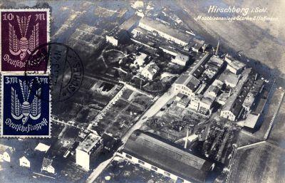 Hirschberg, Luftbild, Bolkenhainer Chausse 16-17-18