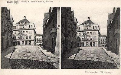 Widokówka stereoskopowa z wydawnictwa Bruno Scholza; bez obiegu.